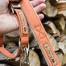 Personalised Cork And Hemp Dog Lead