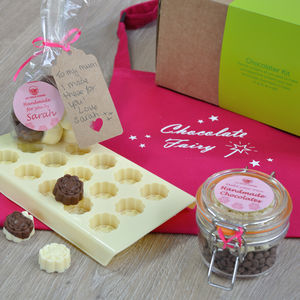 Dad And Child! Make Personalised Chocolates For Mum - aprons