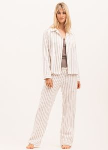 Women's Traditional Pyjamas In Soft Brushed Cotton
