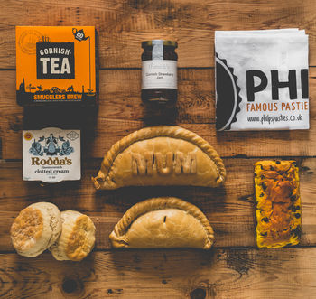 Six Cornish Pasty Mothers Day Hamper