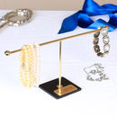 Black And Gold Contemporary Jewellery Rack