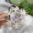 Memory Photo Christmas Hanging Snowflake Decoration