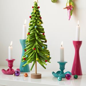 Bright Felt Table Top Christmas Tree
