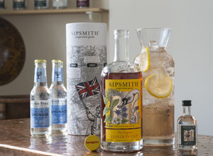 Sipsmith Glass Carafe And London Cup Gift Pack - gin