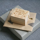 Personalised Twinkle Twinkle Music Box