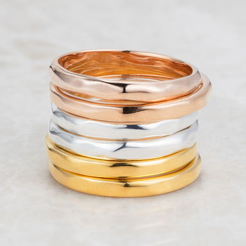 Rose Gold Ring Eternity
