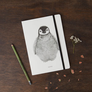 Penguin Round Cornered Notebook