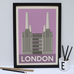 Battersea Power Station Print - architecture & buildings