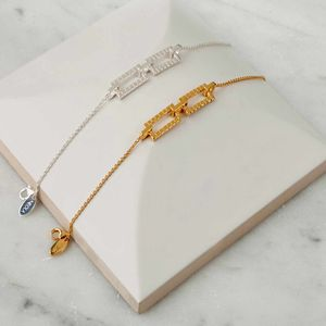 Gold Cube Bracelet - summer sale