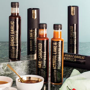Chilli Connoisseur Extreme Chilli Sauce Gift Set - gifts for grandparents
