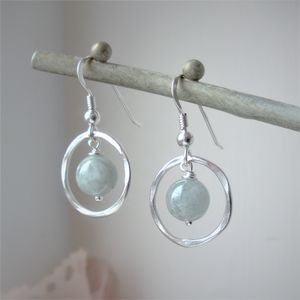 Aquamarine Earrings - earrings
