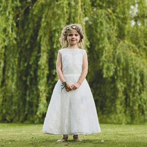 Heavenly ~ Flower Girl | Christening Dress - flower girl dresses