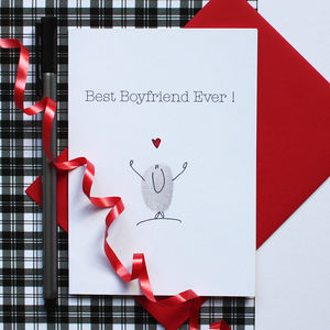 Best Boyfriend Ever Card