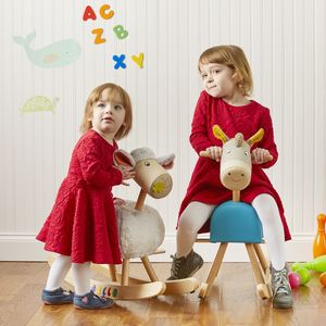 Rocking Horse And Rocking Ba Ba - children's furniture