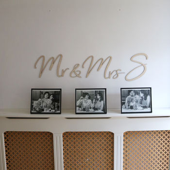 Wooden Letters For Weddings