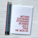 Personalised Superhero Card