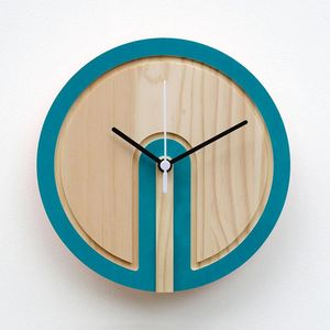 Wooden Colour Switch Clock - clocks