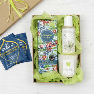 Relaxing Natural Gift Set