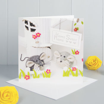 New Home Mouse Greeting Card