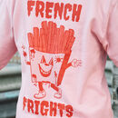 French Frights Women's Back Print Sweatshirt