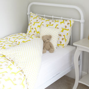 Giraffe Single Duvet Set - summer sale
