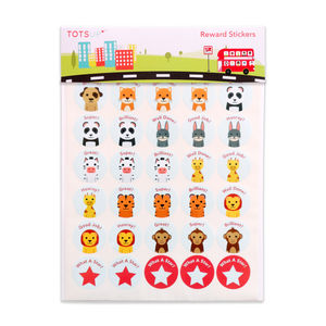 Children's Animal Reward Stickers - stickers & stamps