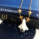Space Shuttle Necklace