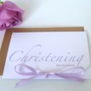 10 Christening Invitation