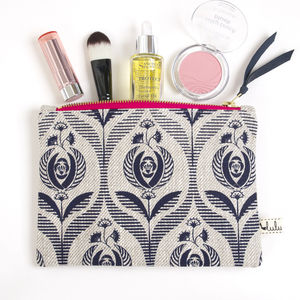 'Art Deco Rose' Pouch