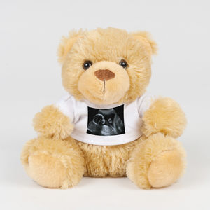 Personalised Message Baby Scan Bear - new in baby & child