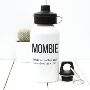 Personalised Mombie Water Bottle