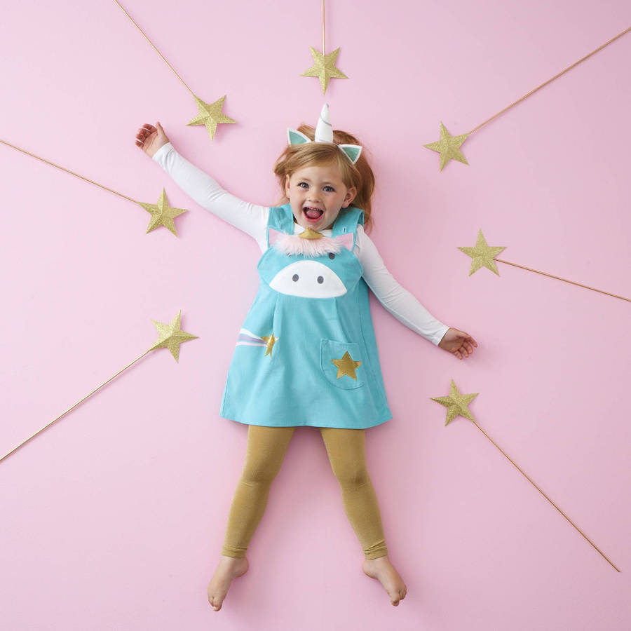 unicorn dress by wild things funky little dresses ...