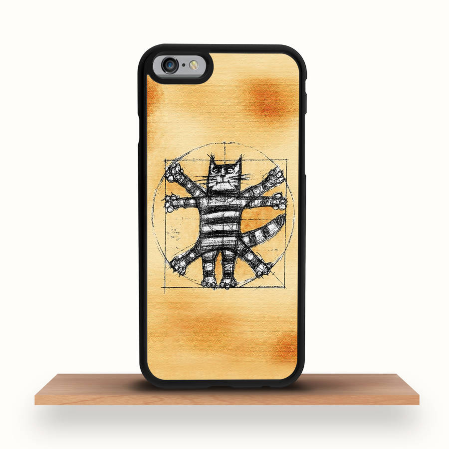 Vitruvian Cat iPhone Case For All Models