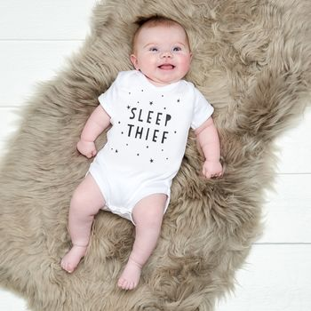 Sleep Thief Baby Grow