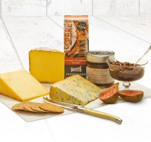 Cheese Lovers Box - 60th birthday gifts