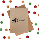 Funny Christmas Card: Silent Night