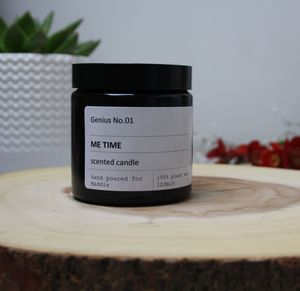 Personalise 'Me Time' Wellbeing Scented Candle