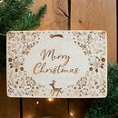 Personalised Christmas Eve Box With Robin Design