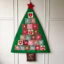 Personalised Christmas Advent Tree