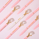 Bridal Party Gold Diamond Pens