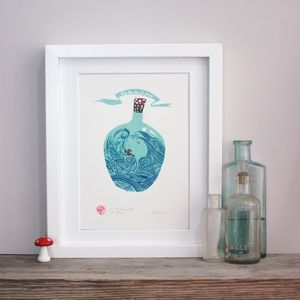 An Ark To Weather All Storms Screenprint