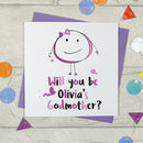 Personalised Will You Be My Godmother Card