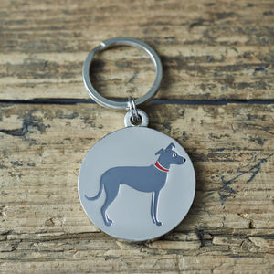 Lurcher ID Dog Name Tag