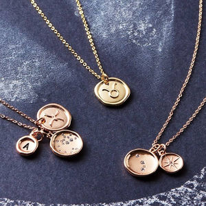 Design Your Own Horoscope Necklace - celestial jewellery