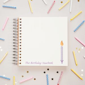 1st To 18th Birthday Memory Book - planning & organising
