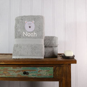 Children's Personalised Bath Towel - towels & bath mats