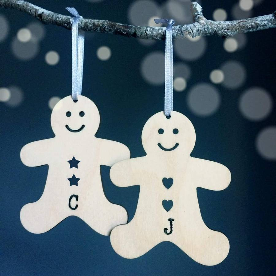 Personalised Gingerbread Christmas Decoration