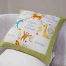 Jungle Memory Cushion