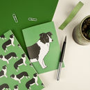 Border Collie Notebook Set