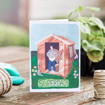 'Superdad!' Father's Day Card